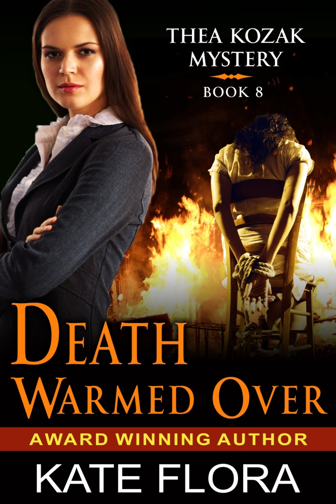 Flora, Kate - Thea Kozak Series Covers - Book 9 - Death Warmed Over - FI...